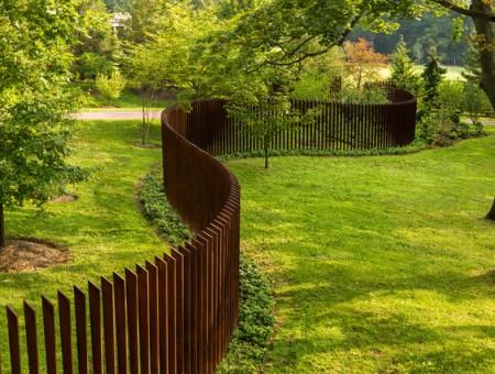 Дизайнерский забор
