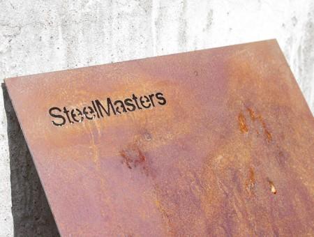 Искусственное ржавление COR TEN на примере Панно от SteelMasters